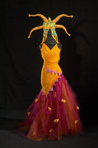 'Silly Girl' Soul art costume by Laüra Hollick. Photo by Paul Potter