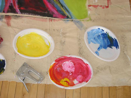 Sarah McClure Soul Art Intensive art supplies
