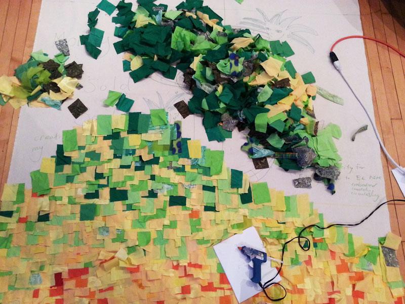 rainbow-carpet-process