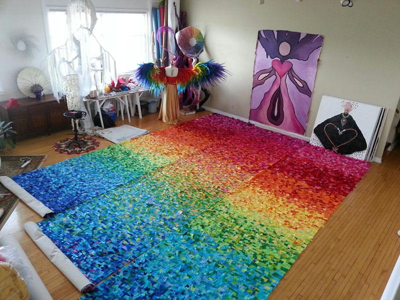 rainbow-carpet