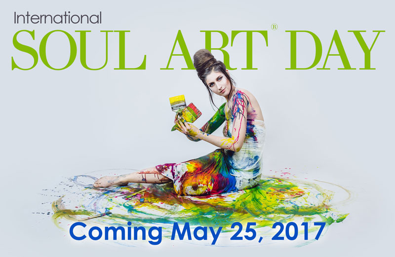 Soul Art Day is Coming May 25th 2017